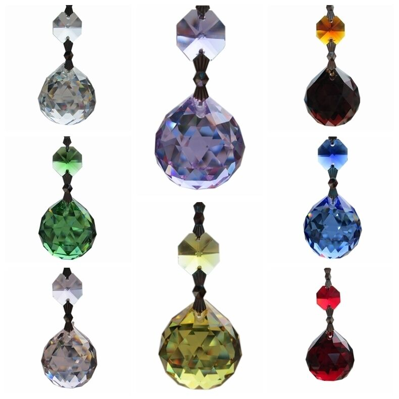 Chandelier Glass Crystal Lamp Prisms Part Hang Drop ...