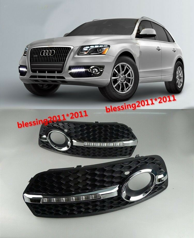 for audi q5 2010 2012 led driving daytime running light. Black Bedroom Furniture Sets. Home Design Ideas