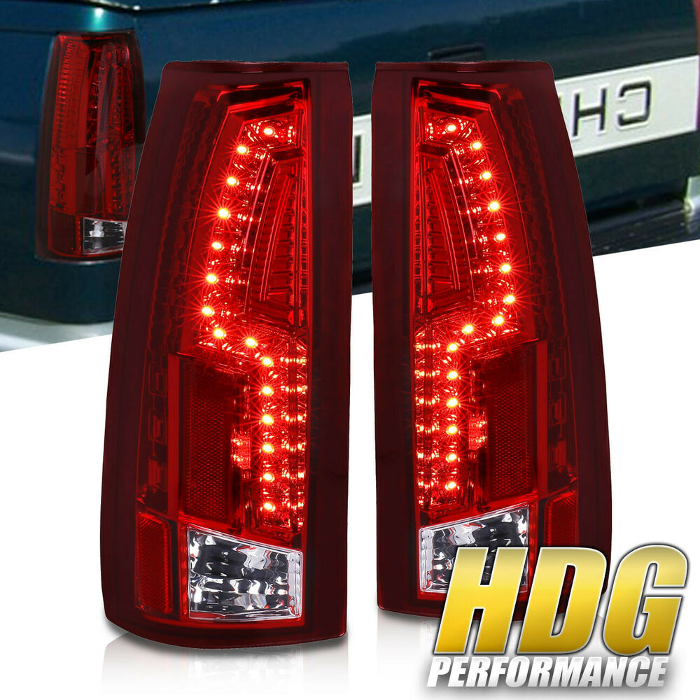181404357725on 88 98 Chevy Led Tail Lights