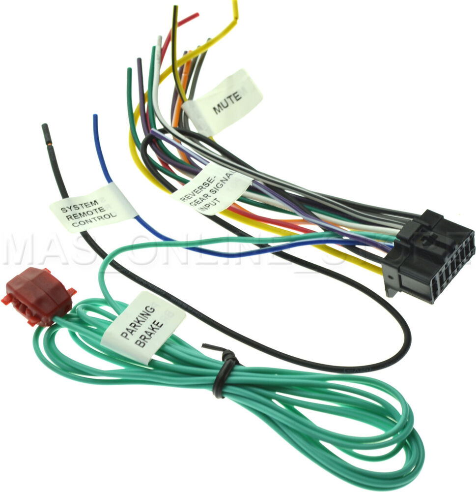 Pioneer Avh P4100dvd Wiring Harness 35 Diagram Images Fiberglass Wire S L1000 For X2500bt Avhx2500bt Pay Today Ships P3100dvd