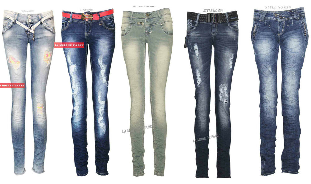 j32 damen skinny zerrissene jeans damen nehmen passende jeansstoff freizeit ebay. Black Bedroom Furniture Sets. Home Design Ideas