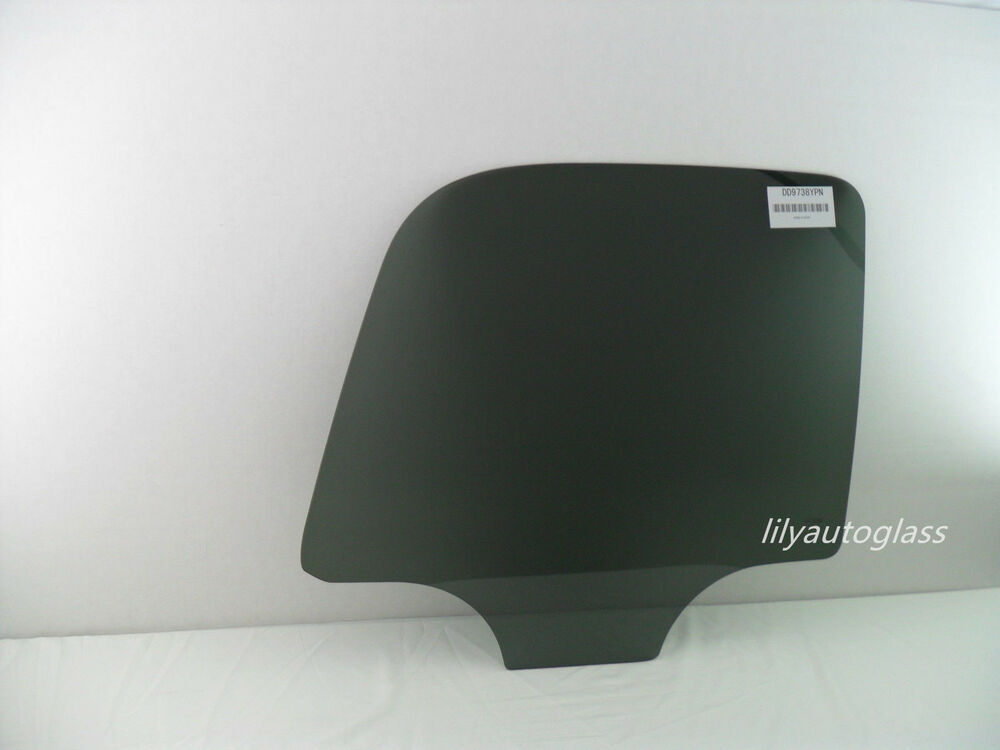 Fit 00 06 chevy tahoe gmc yukon passenger side right rear for Glass back door
