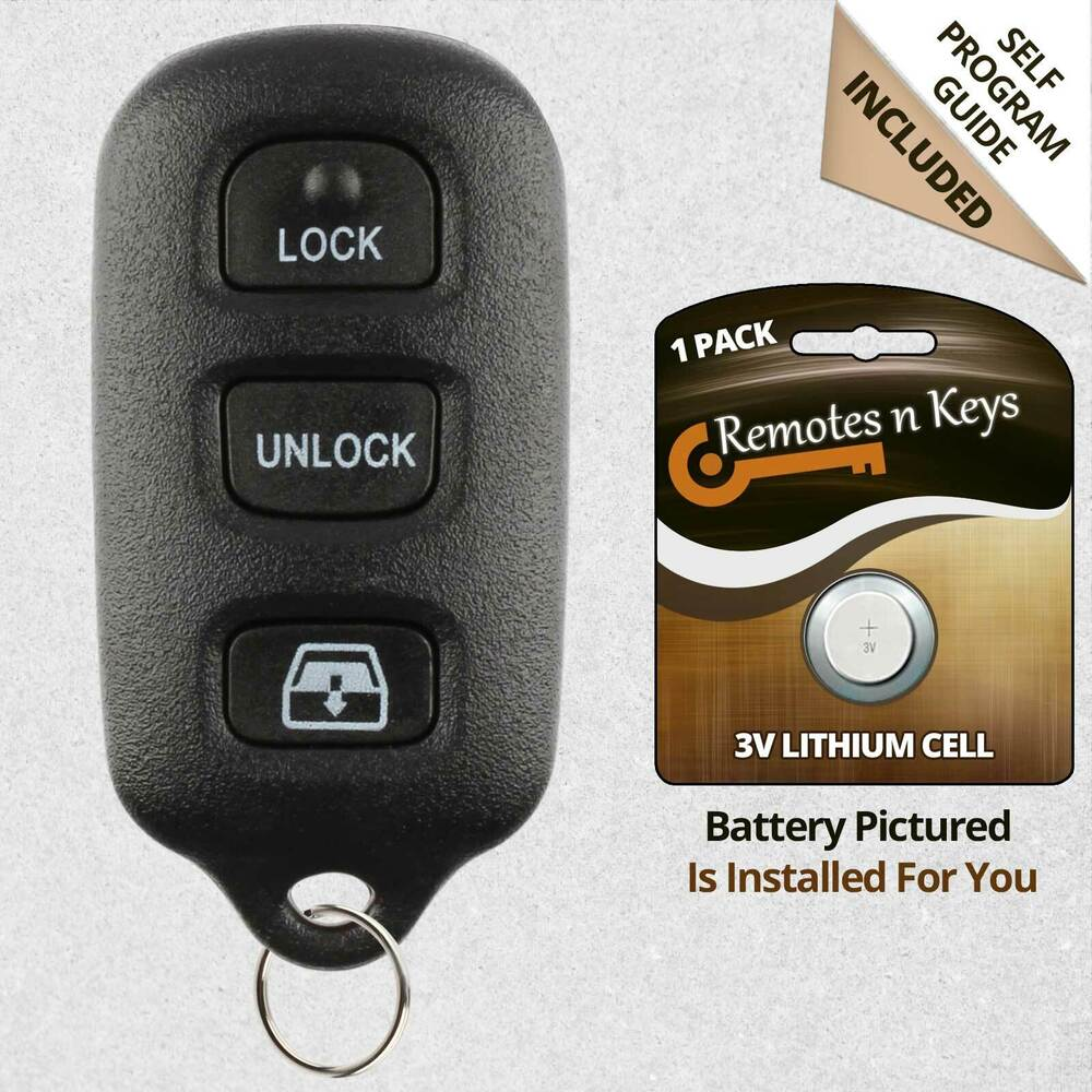 New Replacement Keyless Entry Car Key Remote Fob For