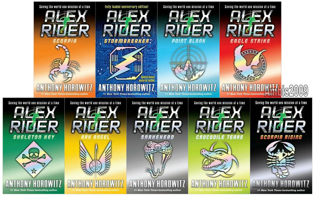 Book Review   Alex Rider Series   YouTube Shopswell