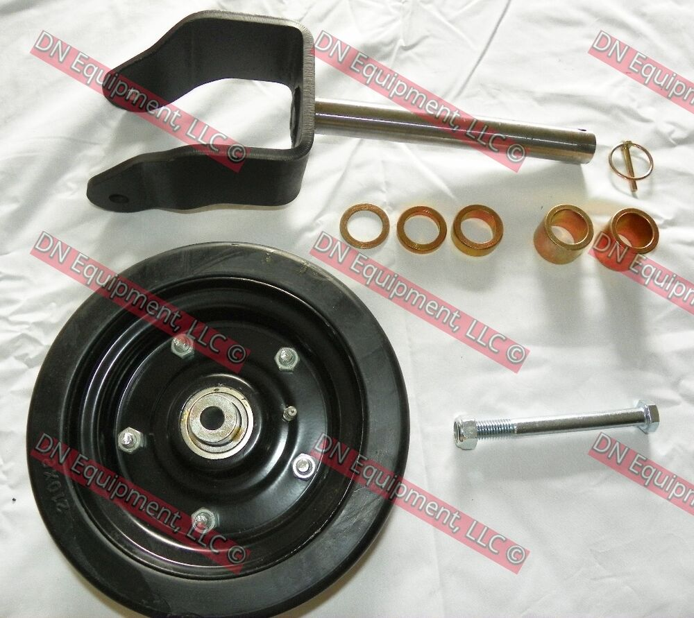Caroni Mower Parts : Complete replacement wheel fork for caroni finish mower