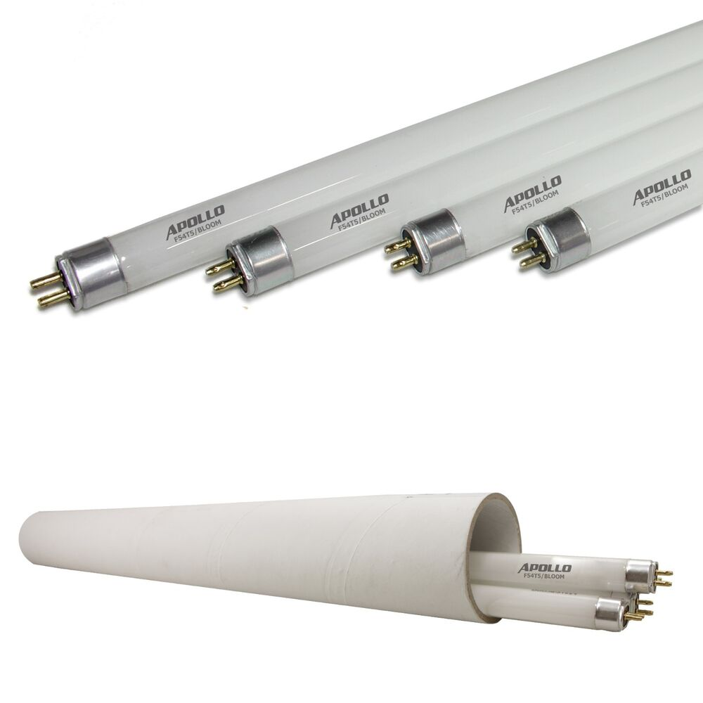Apollo Horticulture T5 4 Ft Fluorescent Grow Light Tube Bulbs For Bloom Growth Ebay