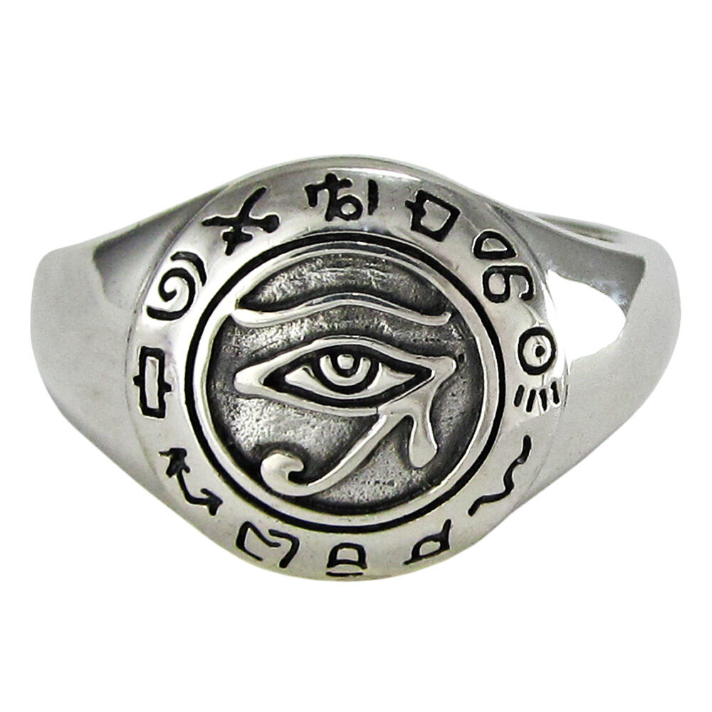 Egyptian Ring Sterling Silver
