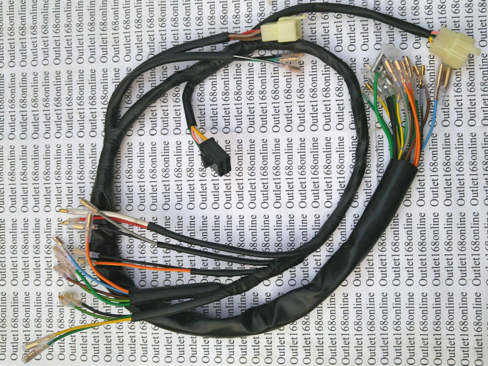 New Honda Cb200 Cb 200 T Cb200t Cl200 Wire Wiring Harness