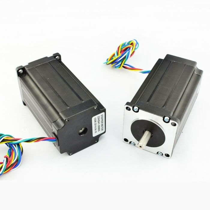Nema23 Single Shaft 3a 361oz In Hybrid Stepper Motor