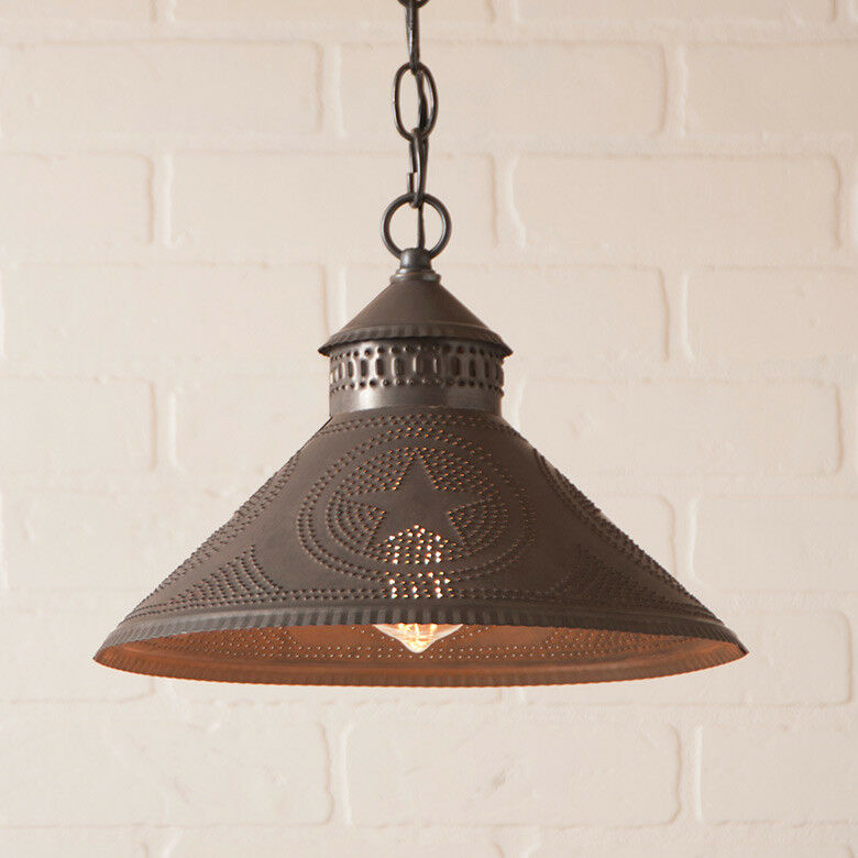 Stockbridge Shade Light Pendant Light 2 Color Choices