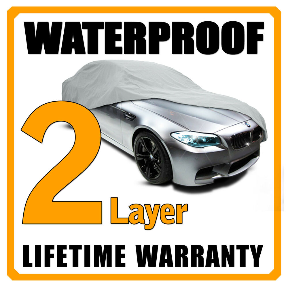 2 Layer Car Cover Breathable Waterproof Layers Outdoor