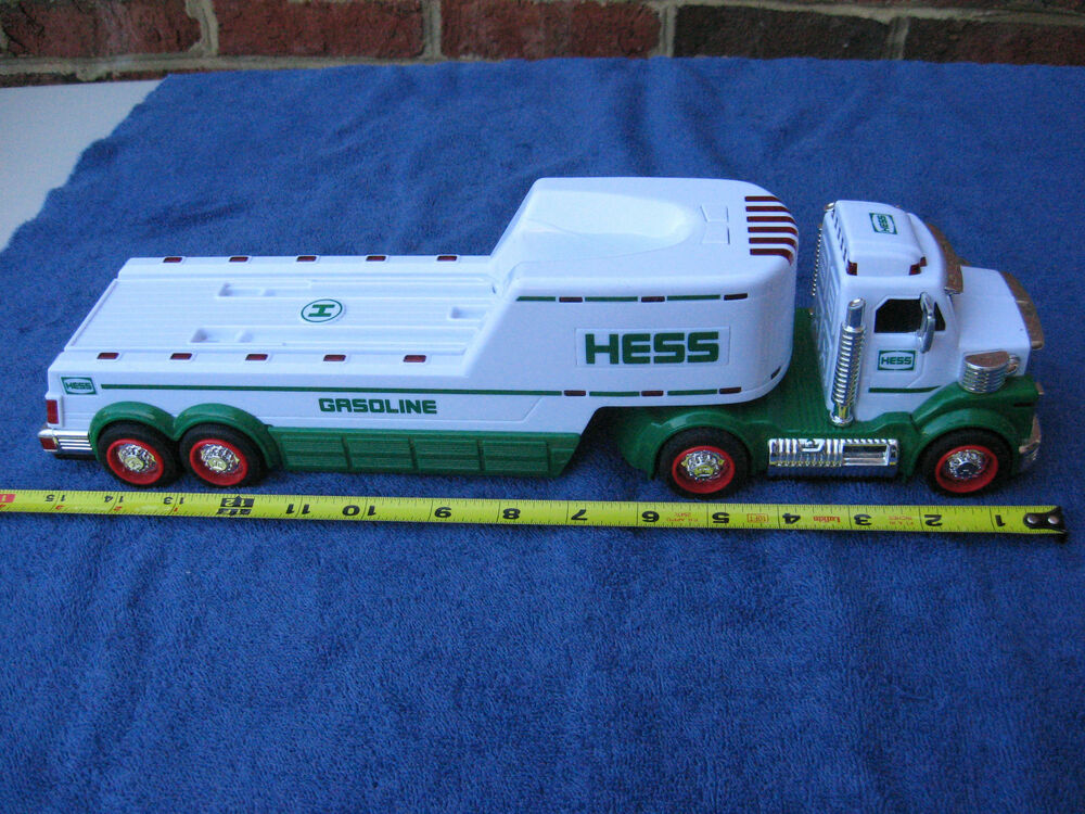 Semi Tractor Trailer Helping Inspect Lights : Hess gasoline semi tractor trailer with lights ebay