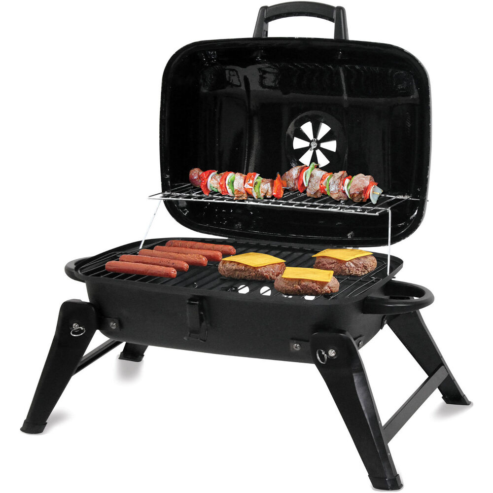 Outdoor Bbq Kitchen Ideas: Charcoal Grill Portable BBQ Backyard Outdoor Camping