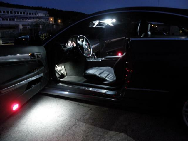 led smd innenraumbeleuchtung bmw e63 6er coupe auch m6 set. Black Bedroom Furniture Sets. Home Design Ideas