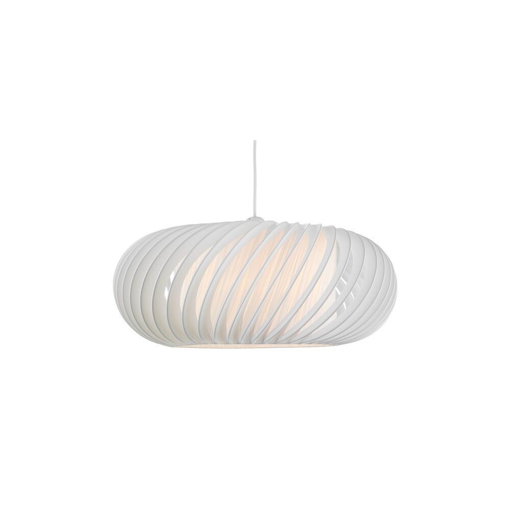 Pendant light shade sizes : Retro ceiling light pendant with tiered detail easy fit