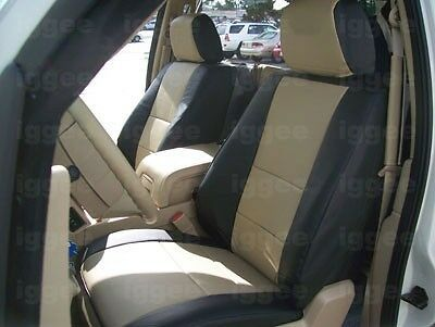 Ford Expedition 2007 2014 Leather Like Custom Seat Cover Ebay