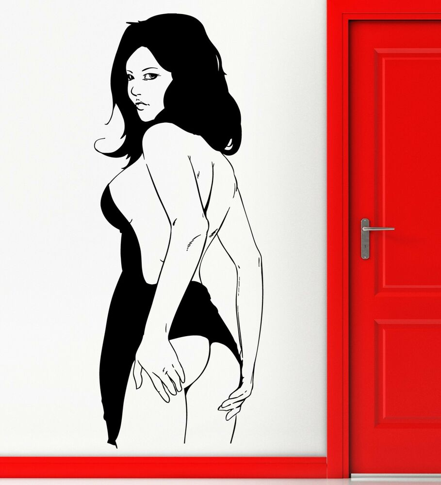 Naked Women Decals 92