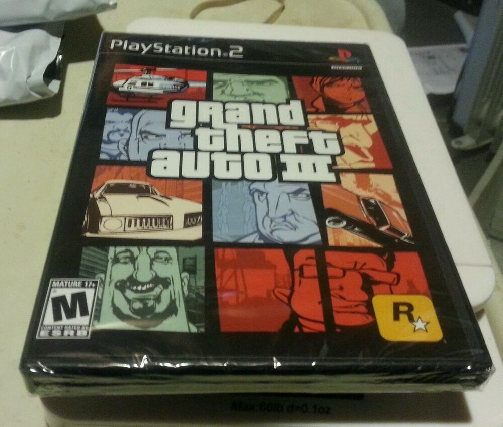 Sell Games For Ps2 : Grand theft auto iii ps black label game sony yfold