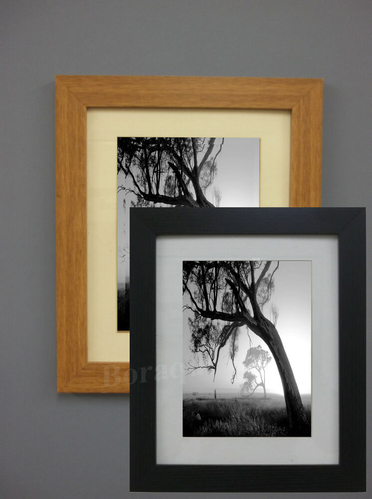 Wood Effect Picture Poster Frames Photo Size Frames Black ...