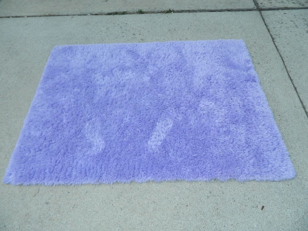 Xhilaration purple shag throw accent rug 4 39 x 5 5 39 nwot for Rugs with purple accents