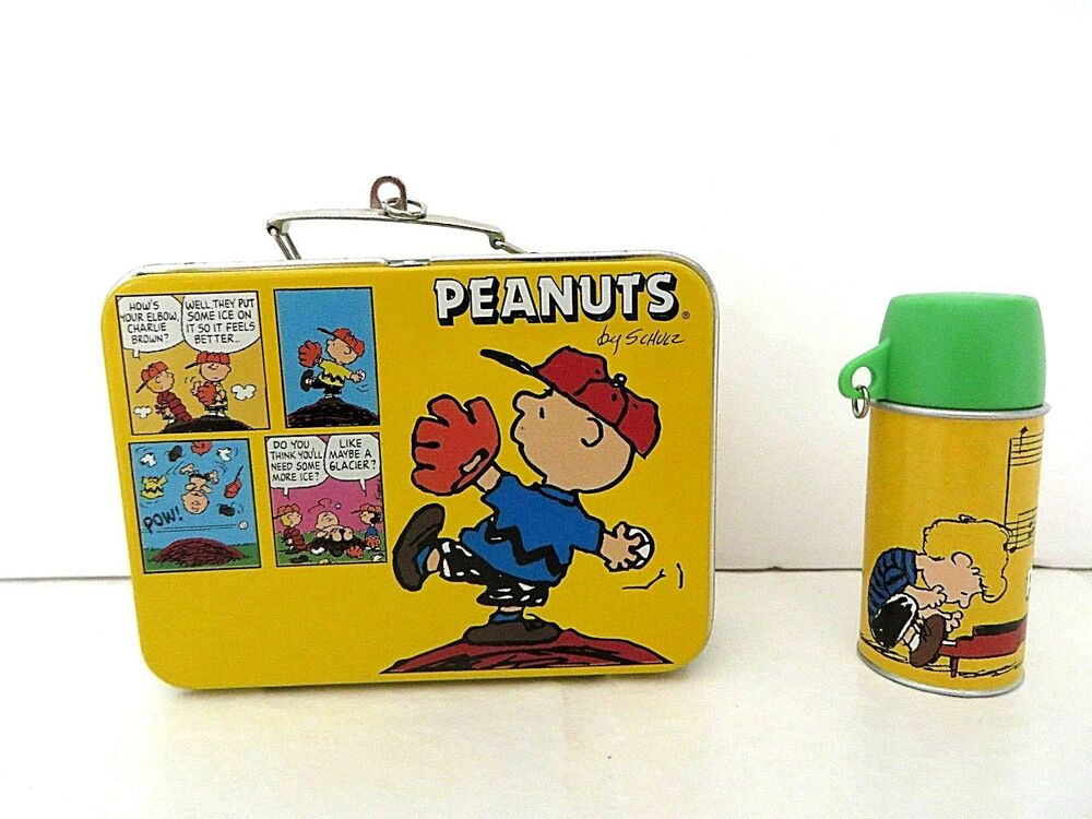 hallmark keepsake ornament peanuts lunch box set ebay. Black Bedroom Furniture Sets. Home Design Ideas