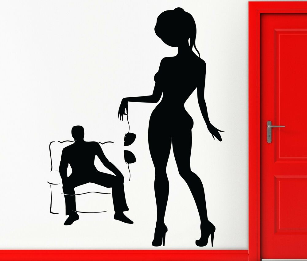 sexy erotic nude bitches decal stickers