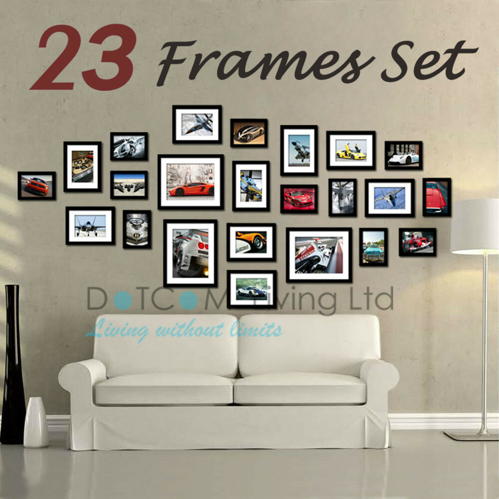 23 Piece Multi Picture Collage Photo Frame Frames Aperture
