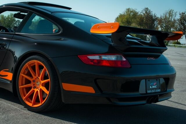 porsche 911 rear spoiler deck lid wing tail 997 gt3 rs look 2005 to 2012 coupe ebay. Black Bedroom Furniture Sets. Home Design Ideas