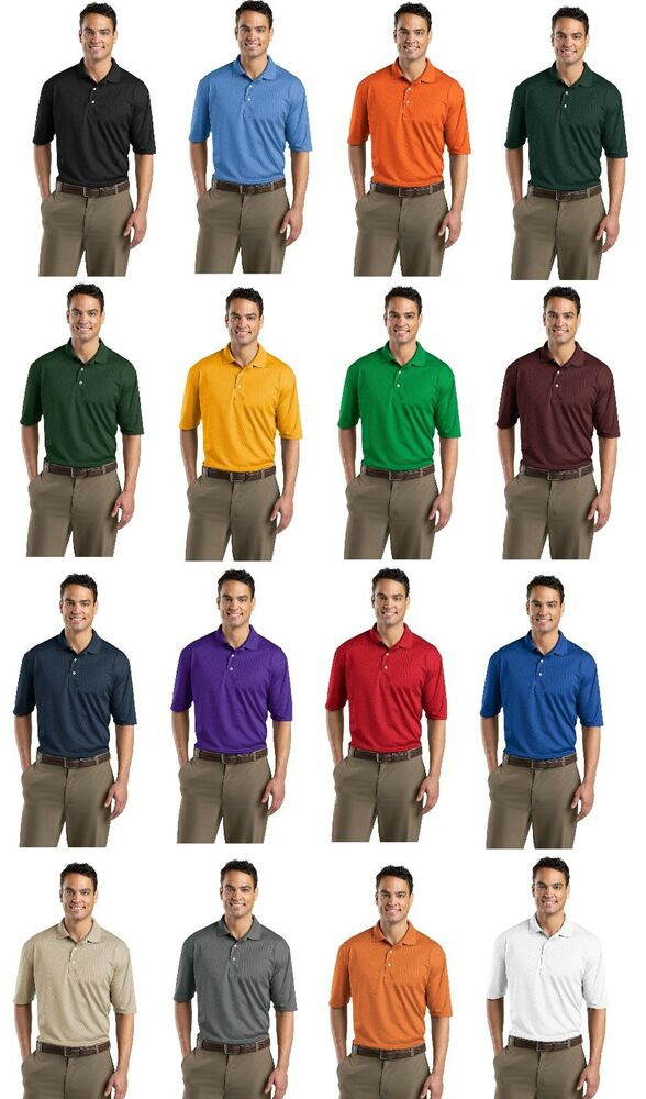 Sport tek dri fit mesh short sleeve men 39 s sport polo golf for Mens xs golf shirts