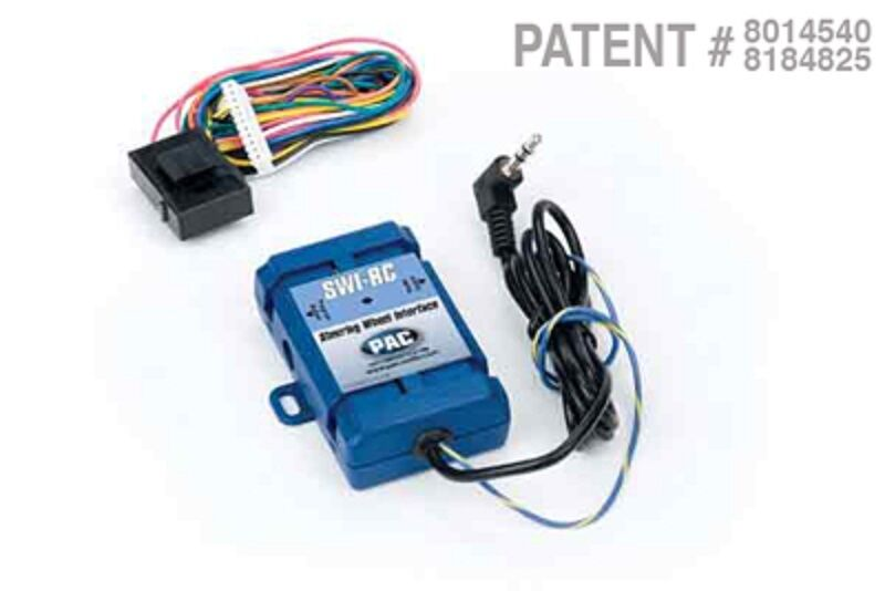 Pac Swi Rc Universal Steering Wheel Control Interface For