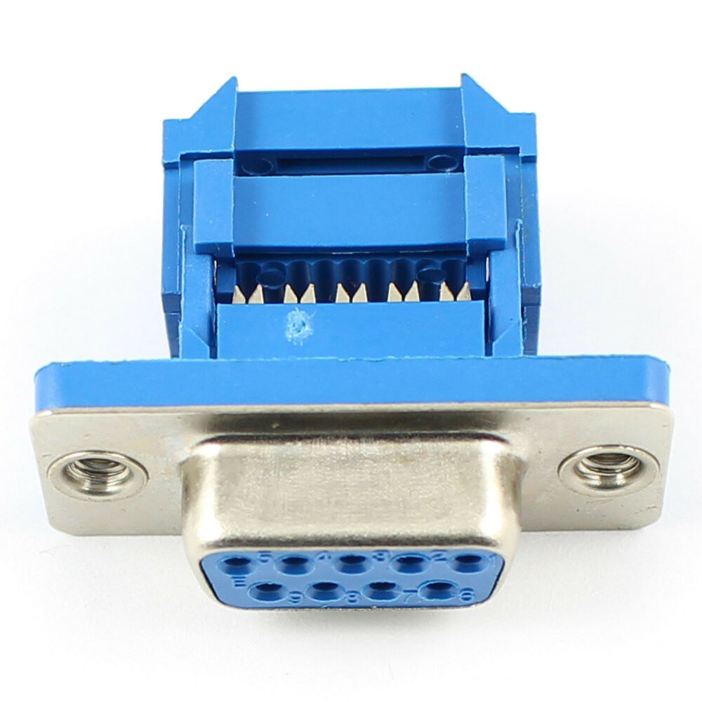 Each Of 5 Pcs D Sub 9 Pin Male And Female Adapter