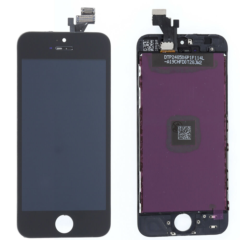 new screen for iphone 5 black new for iphone 5 lcd display digitizer touch screen 17860