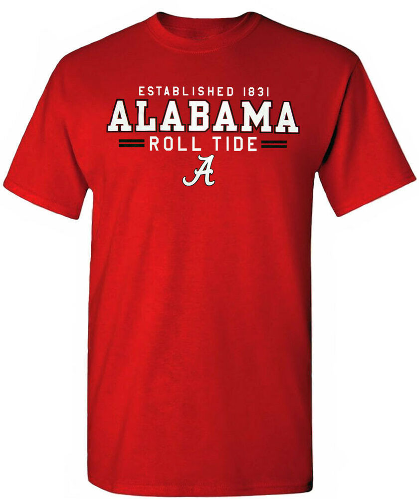 Alabama crimson tide shirt t shirt jersey pins license for University of alabama football t shirts