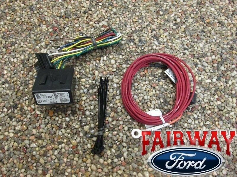 Edge flex escape oem genuine ford trailer towing wiring