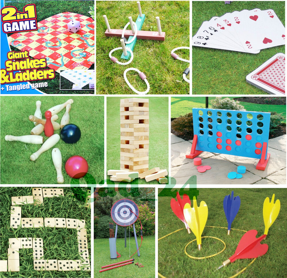 Toys For Games : Garden lawn games giant bbq party beach childrens kids
