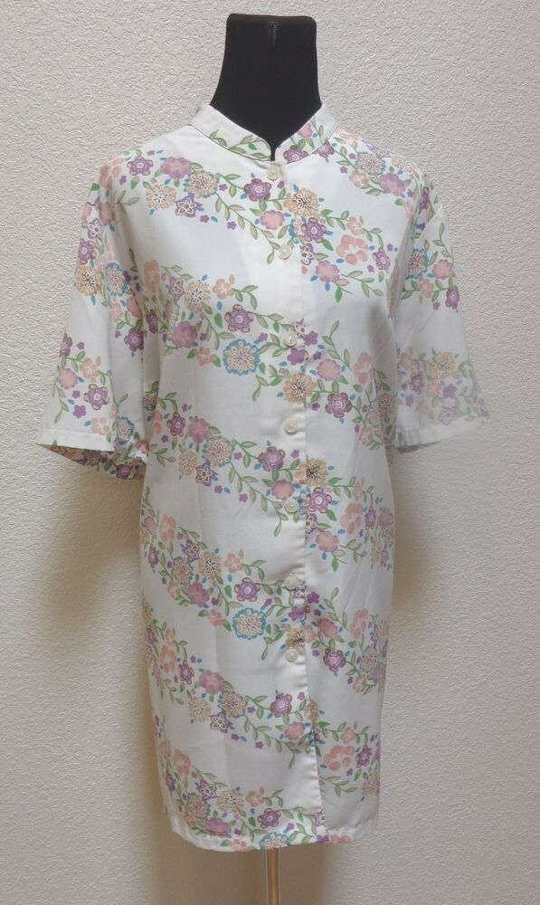 Maggie barnes womens shirt sz 26w 4x beige floral print for Where to buy womens button up shirts