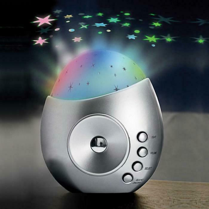 Galaxy Star Projector Sound Machine Baby Kids Nursery