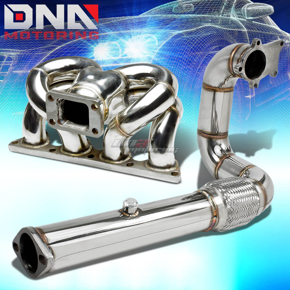 FOR HONDA/ACURA B-SERIES B16/B18 TURBO RAM HORN MANIFOLD+3