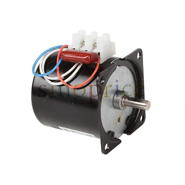 220v ac 60rpm high torque gear box synchronous electric for High torque micro motor