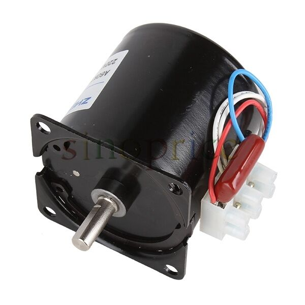 220v 14w 2 5rpm synchronous gear motor speed electric for Two speed electric motor