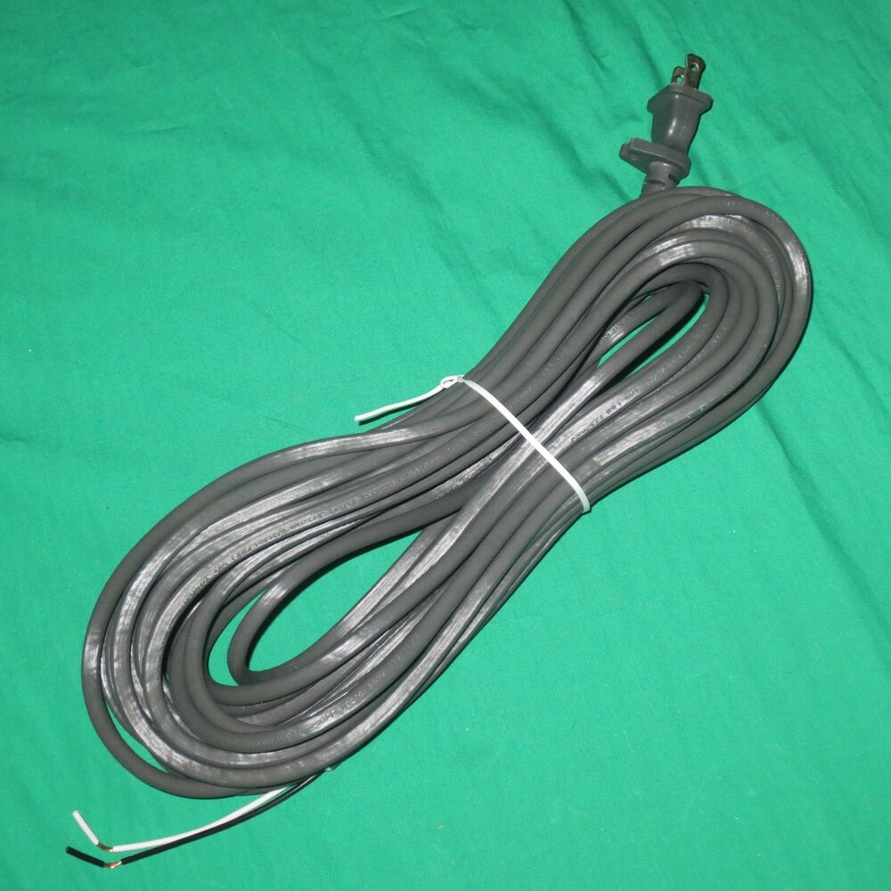 40 Gray Fit All Upright Vacuum Cleaner Power Cord Eureka