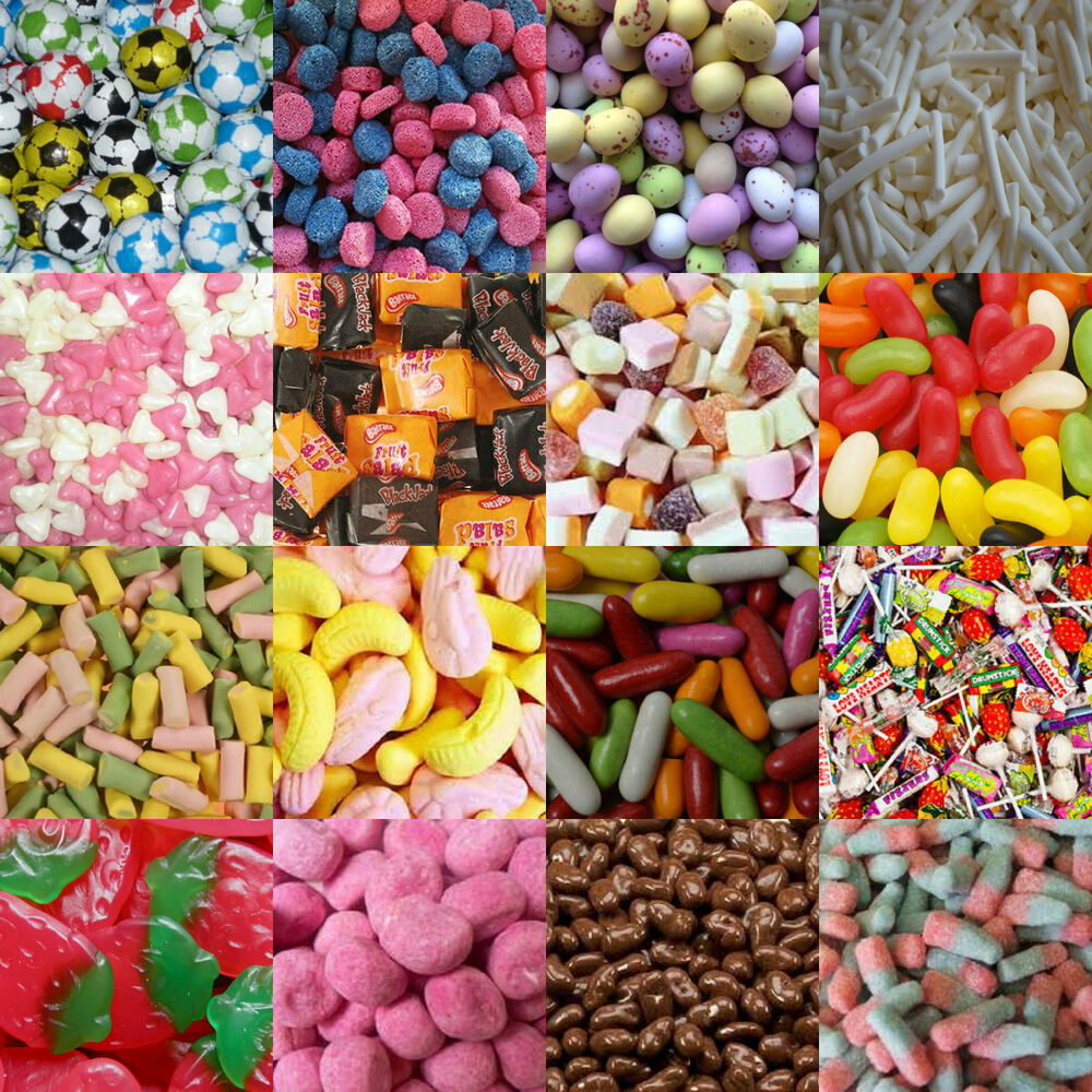 TOP SELLING FAVOURITES SWEET SHOP RETRO SWEETS CANDY KIDS ...