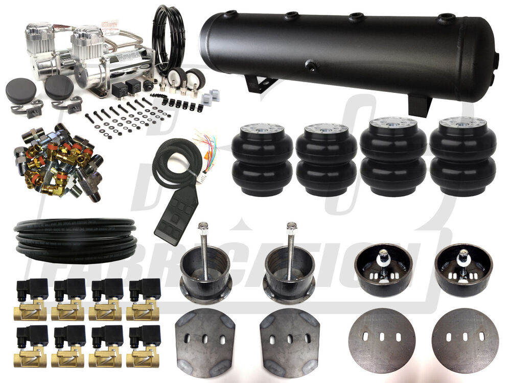 Air Ride Suspension Kit - 1965 - 1972 Mercedes W108 3/8 ...