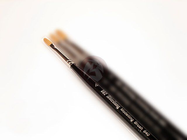 Mig Productions 502 Abteilung Filbert Single Brush Size 6 ABT-840-6