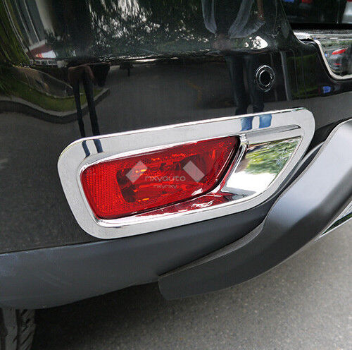 New chrome rear bumper fog light cover for jeep compass - 2016 jeep compass interior lights ...