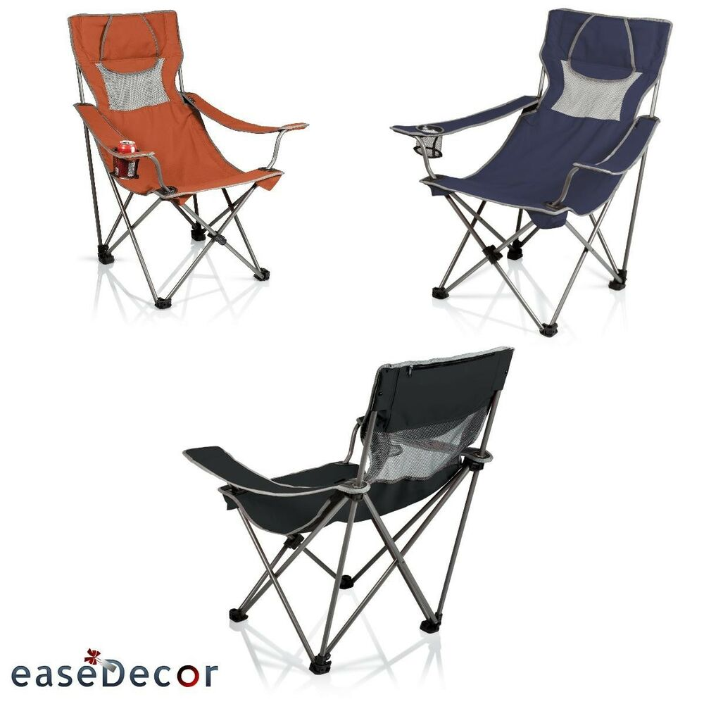 CAMPSITE Chair Folding Camp Chair Carry Bag Outdoor Furniture Picnic Time