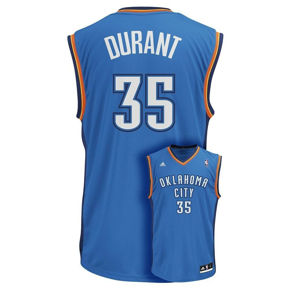 b8b22e434 Details about ( 70) ADIDAS Oklahoma City Thunder KEVIN DURANT nba Jersey  Adult MENS MEN S (xl)