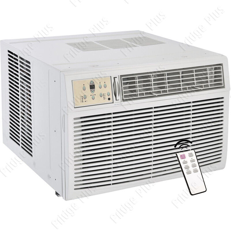 8000 btu window ac unit w heating 115v standard air for Window unit ac