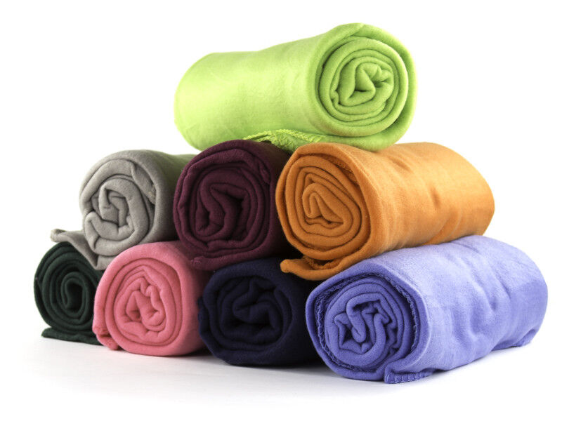 50 X 60 Inch Soft Wholesale Fleece Blankets 24 Pack
