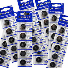 Watch Toys Remote Battery WHOLESALE 40pcs CR2032 LM2032 DL2032 Button Cell Coin